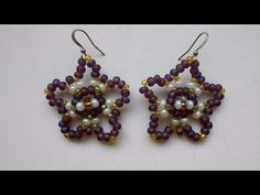 How To Weave Beaded Star Earrings - DIY Crafts Tutorial - Guidecentral