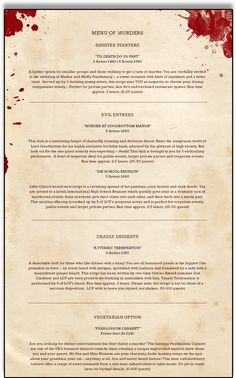 free mystery dinner theater scripts pdf