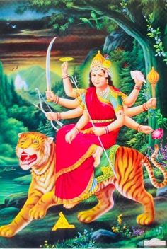 Lord Durga, Durga Maa, Durga Goddess, Maa Wallpaper, Ambe Maa, Mata Rani, Ganesha Art, Divine Mother, Hindu Deities
