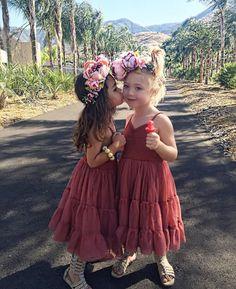 flower crown babies (@foreverandforava on ig)