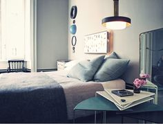 A beautiful palette of hues especially for a bedroom