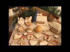 Medovníčky - príprava polevy - zdobenie.. - YouTube Russian Recipes, Sugar Art, Gingerbread, Christmas Diy, Dishes, Cookies, Holiday Decor, Pastries, Food