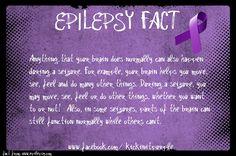 Epilepsy Fact #epilepsy #epilepsyawareness