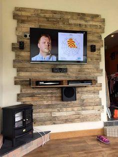 Декор ТВ-зоны.