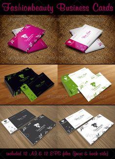 Fashion Beauty Business Cards