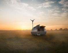 Tiny Wind & Solar Powered Home Lets You Live Off The Grid Anywhere In The World | Bored Panda