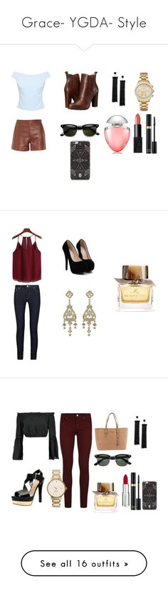 """Grace- YGDA- Style"" by inestrindade on Polyvore featuring Ted Baker, TIBI, BCBGeneration, Tom Ford, Michael Kors, NARS Cosmetics, Bulgari, DANNIJO, Acne Studios and Burberry"