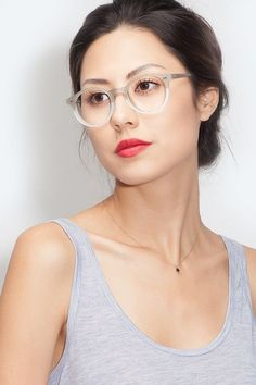 ec36e6c22d3 Fade Taupe   Pearl Acetate Eyeglasses from EyeBuyDirect. A fashionable frame  with great quality and an affordable price.