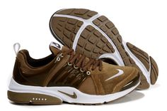 buy popular a1af8 7dfb1 For Wholesale Mens Nike Air Presto Brown White Shoes
