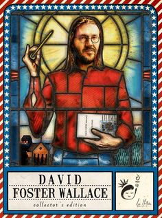 Figurina #7 - david foster wallace