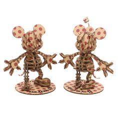 Sliced cardboard mice