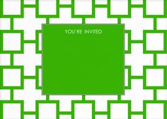 green square design