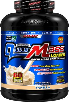 Allmax Nutrition QuickMass Loaded - 6lbs Vanilla #quickmassloaded