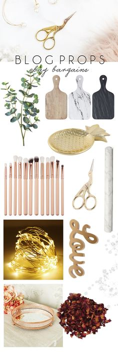 eBay Bargains #84 - Blog Photography Props | Makeup Savvy - makeup and beauty blog