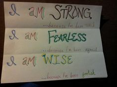 Strong. Fearless. Wise.