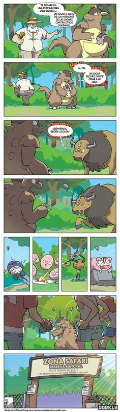 Zona Safari: vida salvaje, Pokémon en su hábitat… y piedras. Muchas piedras.