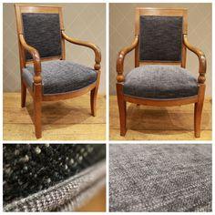Modernisation de ce fauteuil pour une vente d'antiquaire à Paris Decoration, Accent Chairs, Armchair, Paris, Furniture, Bridges, Club, Home Decor, Diy Ideas For Home