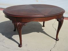 antiques furniture | ... Antique Dining Table Queen Ann Legs Antique Dining Room Furniture