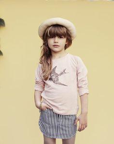 Uber chic.  Louis Louise #kids #fashion