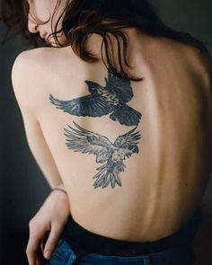 Birds. | Tattoologist | Bloglovin'