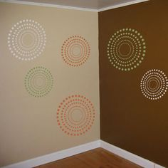 Another cool wall decal, I would order these in only black and white.