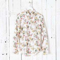 Allan Flower Print Shirt