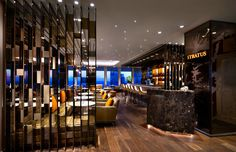 Idea Stratus Restaurant & Bar by B+H Architects in Toronto, Canada Ab Concept, Vietnamese Restaurant, Sharjah, Ho Chi Minh City, Design Firms, Restaurant Bar, Shanghai, Sustainability, Toronto