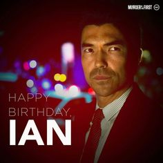 Ian Anthony Dale as Lt. Jim Koto. Ian Anthony Dale, Murder In The First, Favorite Tv Shows, Happy Birthday, Movies, Movie Posters, Fictional Characters, Happy Brithday, Films