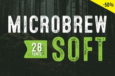 Microbrew Soft - Intro 50% off by Albatross on @creativemarket