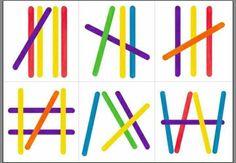Clothespins, spatulák és a matematika - óvodai - Maam. Montessori Activities, Color Activities, Toddler Activities, Learning Activities, Kids Learning, Preschool Lessons, Preschool Math, Preschool Worksheets, Montessori Practical Life
