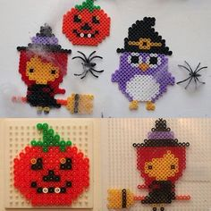 Halloween hama beads by skapamer