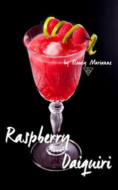 Raspberry Daiquiri by Bloody Marianne #cocktail #mixology