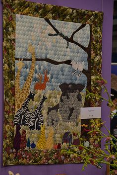 Reiko Washizawa Hexagon Zoo quilt from Tokyo Quilt Festival, photo by Luana Rubin, via Flickr. See my Flickr pages for more quilt show photos!