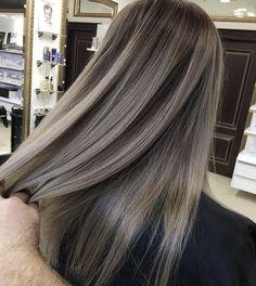 Blonde Asian Hair, Brown Blonde Hair, Brunette Hair, Ash Brown Hair Color, Hair Color And Cut, Haircut And Color, Winter Hairstyles, Hairstyles Haircuts, Pretty Hairstyles