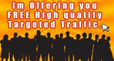 Would you Like some FREE GUARANTEED TARGETED TRAFFIC ? Well PM Me. Advertising, Wellness, Free, Inspiration, Commercial Music, Biblical Inspiration, Inspirational, Inhalation