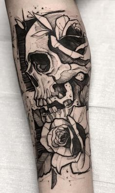 80 skulls and skull tattoos TopTattoos .- 80 skulls and skull tattoos TopTattoos # Skulls # SkullTattoos Tattoos Masculinas, Body Art Tattoos, Sleeve Tattoos, Belly Tattoos, Wing Tattoos, Eagle Tattoos, Skull Tattoo Design, Tattoo Designs, Tattoo Ideas