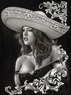 #MexicanArt #Chicano #ArtTattoo