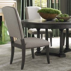 chair design Upholstered Side Chair by Bassett Furniture