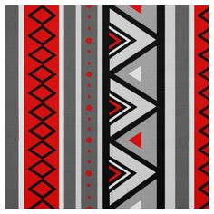 Red Grey Pink Upholstery Fabric - Modern Black White Cotton Curtains ...