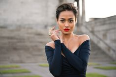 The versatile pixie - look at how great it looks slicked back! This woman is my new obsession, Micah Giannelli >>> http://micahgianneli.com/