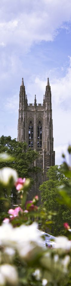The @DukeUniversity Chapel towers over the university's west campus. Photo by @jonathanelee