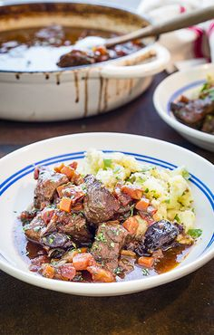 Slow Cooked Beef Stew with Prunes Recipe from Sunsweet Growers® - Slow Cooking Oven Beef Stew, Slow Cook Beef Stew, Slow Cooked Beef, Entree Recipes, Meat Recipes, Recipies, Snack Recipes, Dinner Recipes, Stewed Prunes