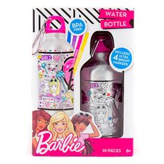 Barbie® Color Your Own Water Bottle Kit Diy For Kids, Crafts For Kids, Children Swimming Pool, American Girl Furniture, Barbie Sisters, Stocking Stuffers For Kids, Craft Accessories, Michael Store, Ben And Jerrys Ice Cream