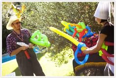 Balloon Creations #party #halloween #kendrascott
