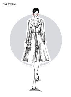 Valentino   Spring/Summer 2013   Fashion Illustration by Anoma Paleebut