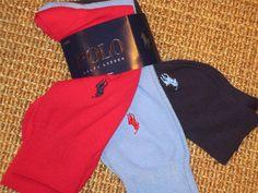 POLO  RALPH  LAUREN  MEN'S  SOCKS   SET OF  3   PAIRS   NEW  NWT #PoloRalphLauren #Dress