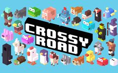 Crossyroad, un juego para los nostálgicos de los arcade de los 80.