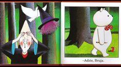 """Libro """"Un cuento de Oso"""", de Anthony Browne, autor e ilustrador, Editorial Fondo de Cultura Económica. Desde la portada el oso protagonista de Browne, da a e..."""