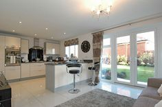 new homes kitchen designs uk - Google Search