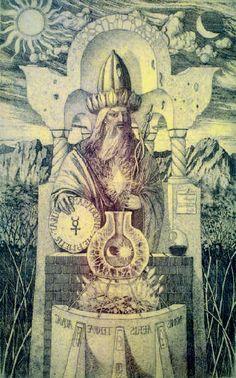deathandmysticism: Hermes Trismegistus